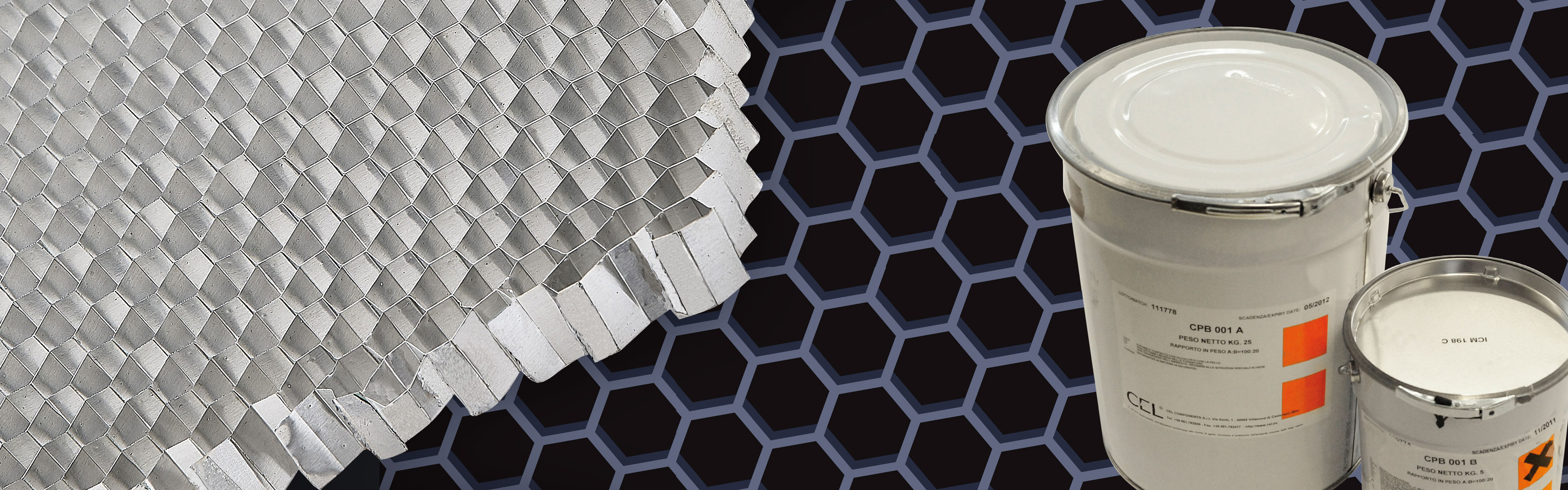 Two-component polyurethane adhesive for sandwich panels and honeycombs